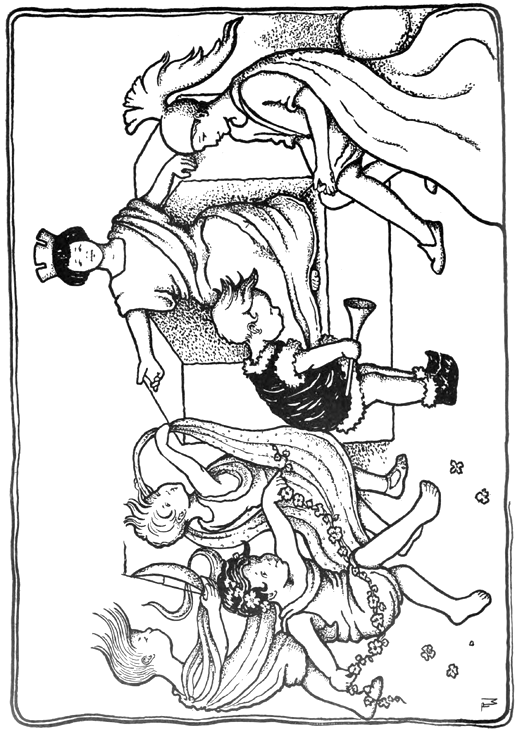 greek dancers coloring pages - photo#1